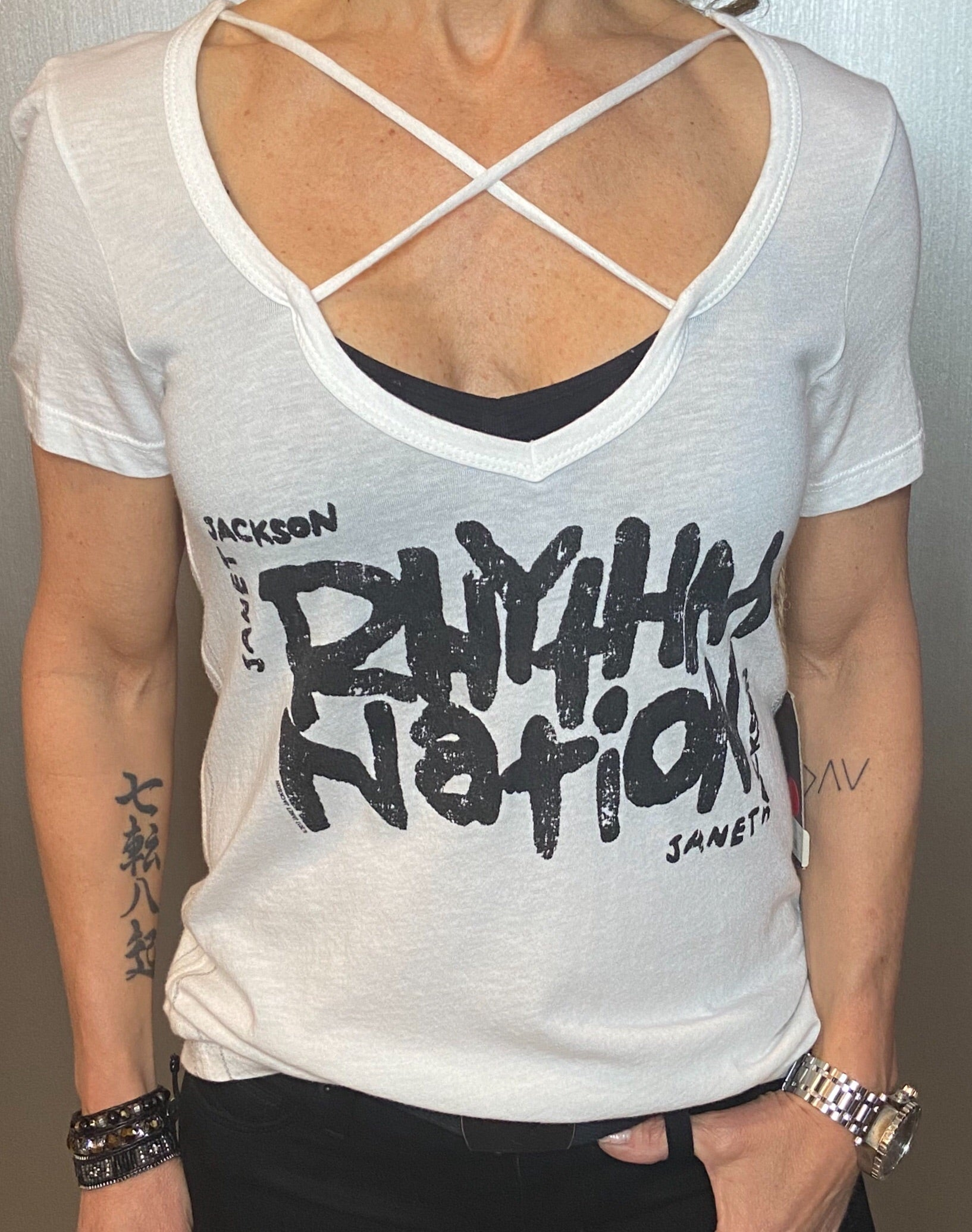 Rhythm nation graphic tee