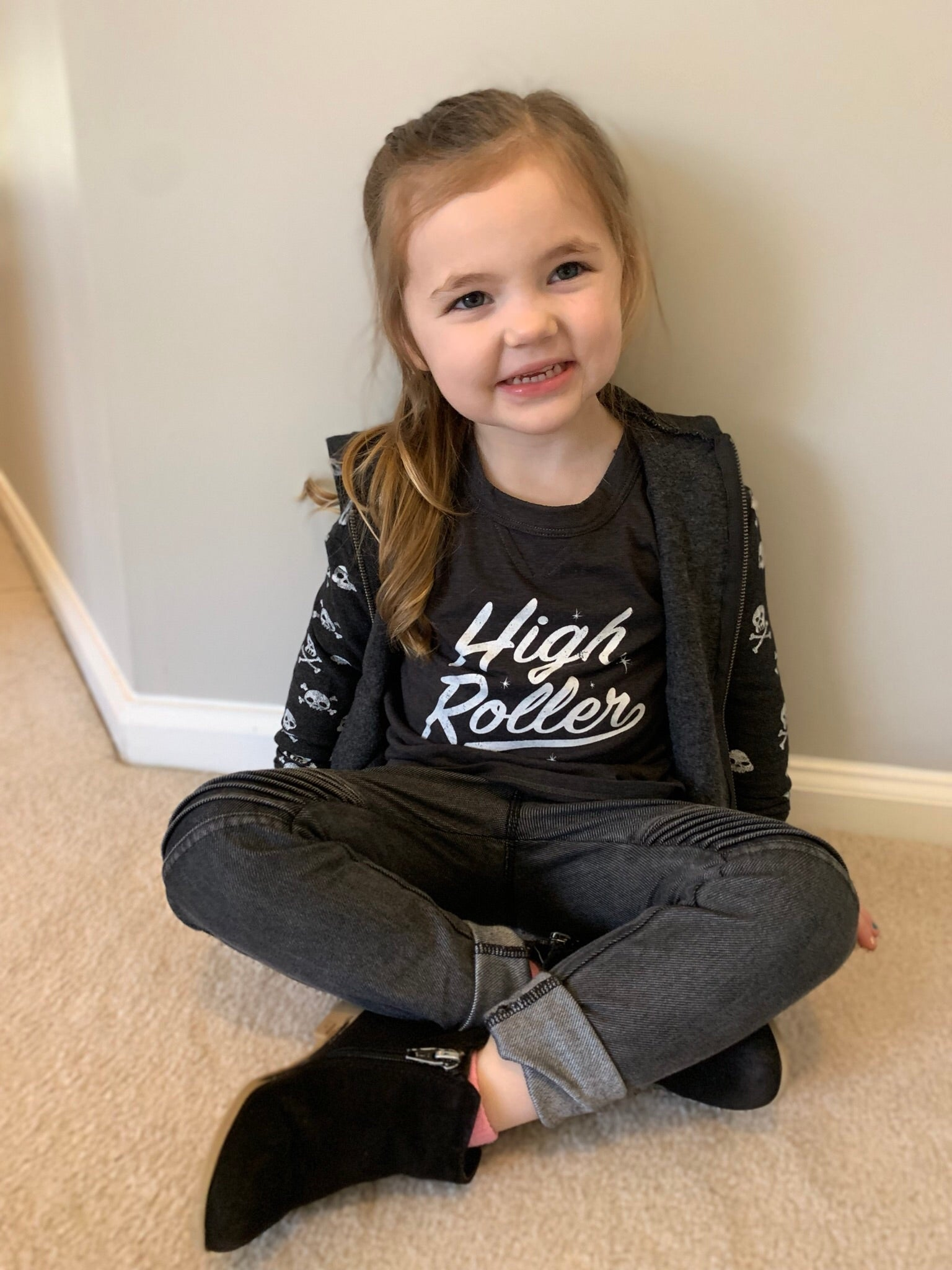 "KIDS ""High Roller"" graphic tee"