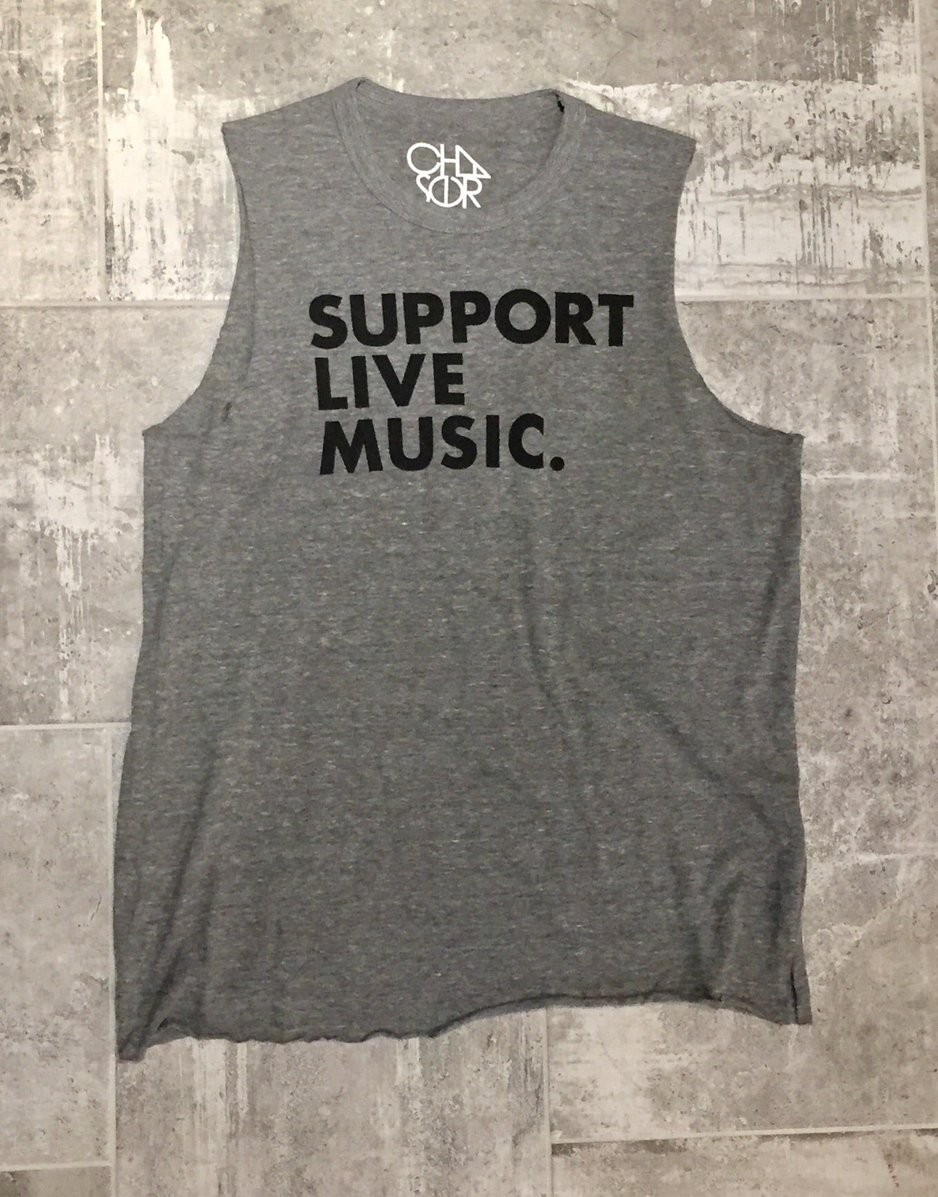 """Support Live Music"" graphic tee"