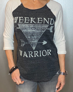 Weekend Warrior graphic tee