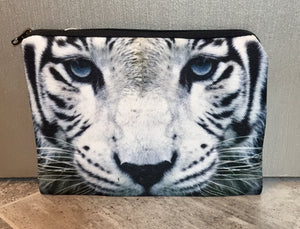 White tiger flat bag