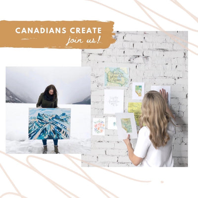 Canadians Create | Live Art Tutorials
