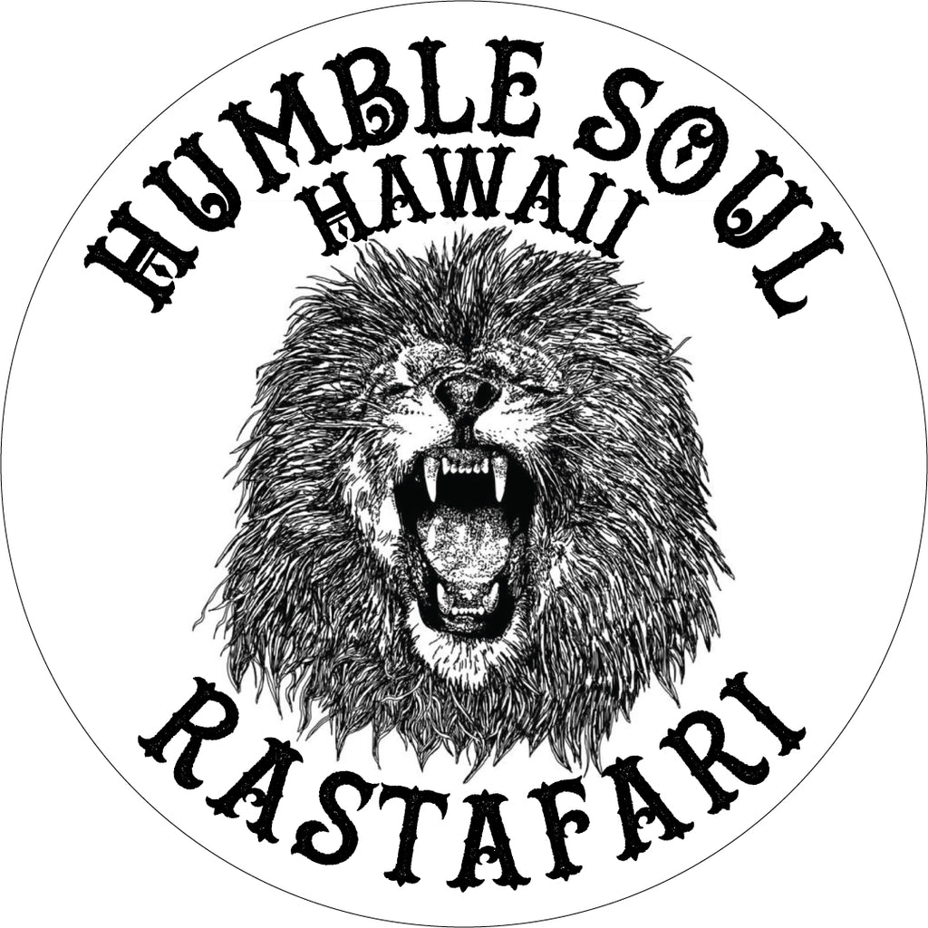 4 inch HAWAIIAN LION vinyl sticker