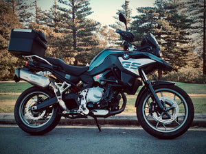 BMW F750 GS K&N Air Filter Install