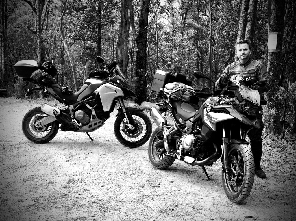 Me and my 750gs camping