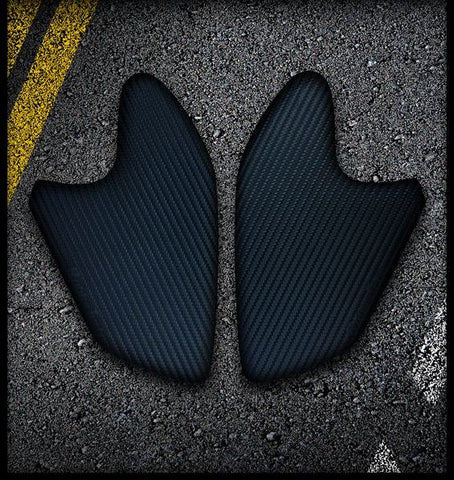 AK CARBON 1200GS LC 2013-2017 | Rubbatech Tank Knee pads