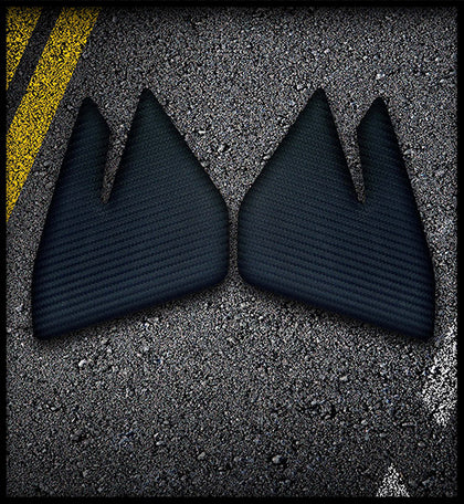 BMW F800GS Knee Tank Pads - Protection (2013 - 2015)