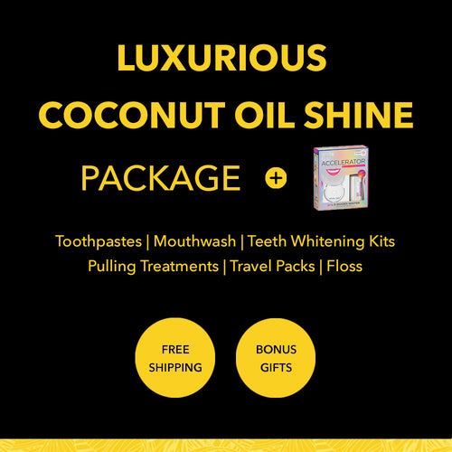 Luxurious Coconut Oil Shine Package