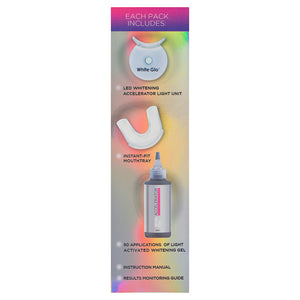 Accelerator Teeth Whitening Kit With Refill Gel