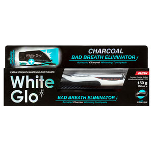 Charcoal Bad Breath Eliminator Whitening Toothpaste