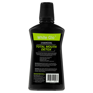 Charcoal Total Mouth Detox Mouthwash