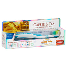 Load image into Gallery viewer, Coffee & Tea Drinkers Formula Whitening Toothpaste