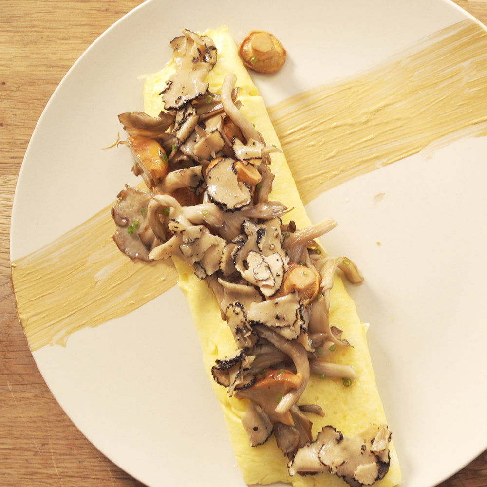 French Omelette with Mushrooms & Truffles