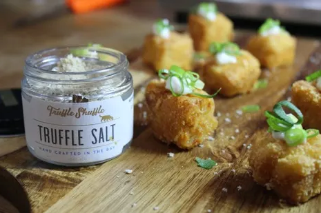 Truffle Mac N Cheese Bites