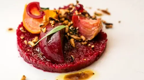 Roasted Beet Carpaccio
