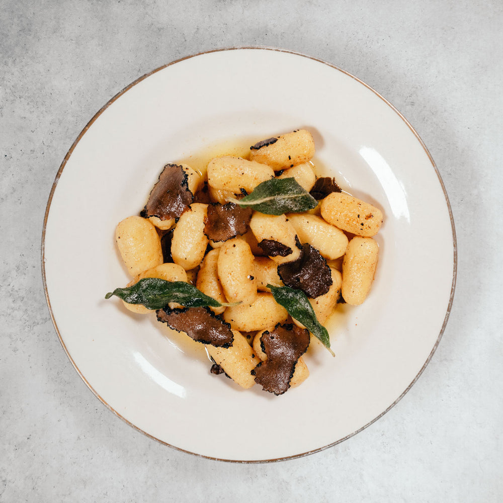 Sweet Potato Gnocchi with Truffle Brown Butter