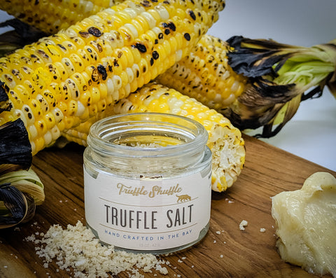 roasted corn truffle recipe