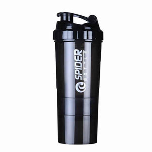 3 Compartment Shaker Bottle