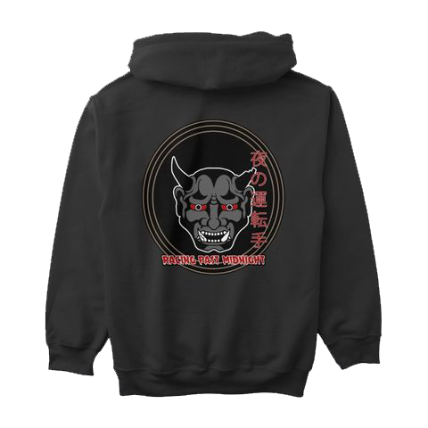 Battle Hardened Night Drivers Racing Past Midnight Hoodie