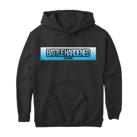 Battle Hardened Car Apparel Gradient Bar Hoodie