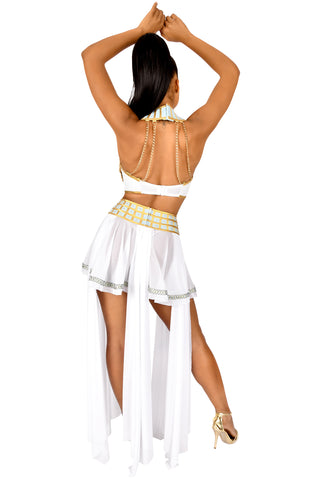 Queen of De Nile High-Waisted Skirt