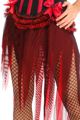 Carousel Vampire Shredded Skirt