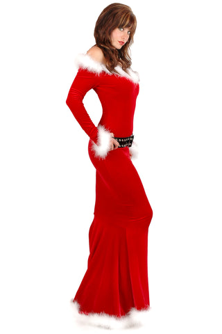 Punky Santa Gown