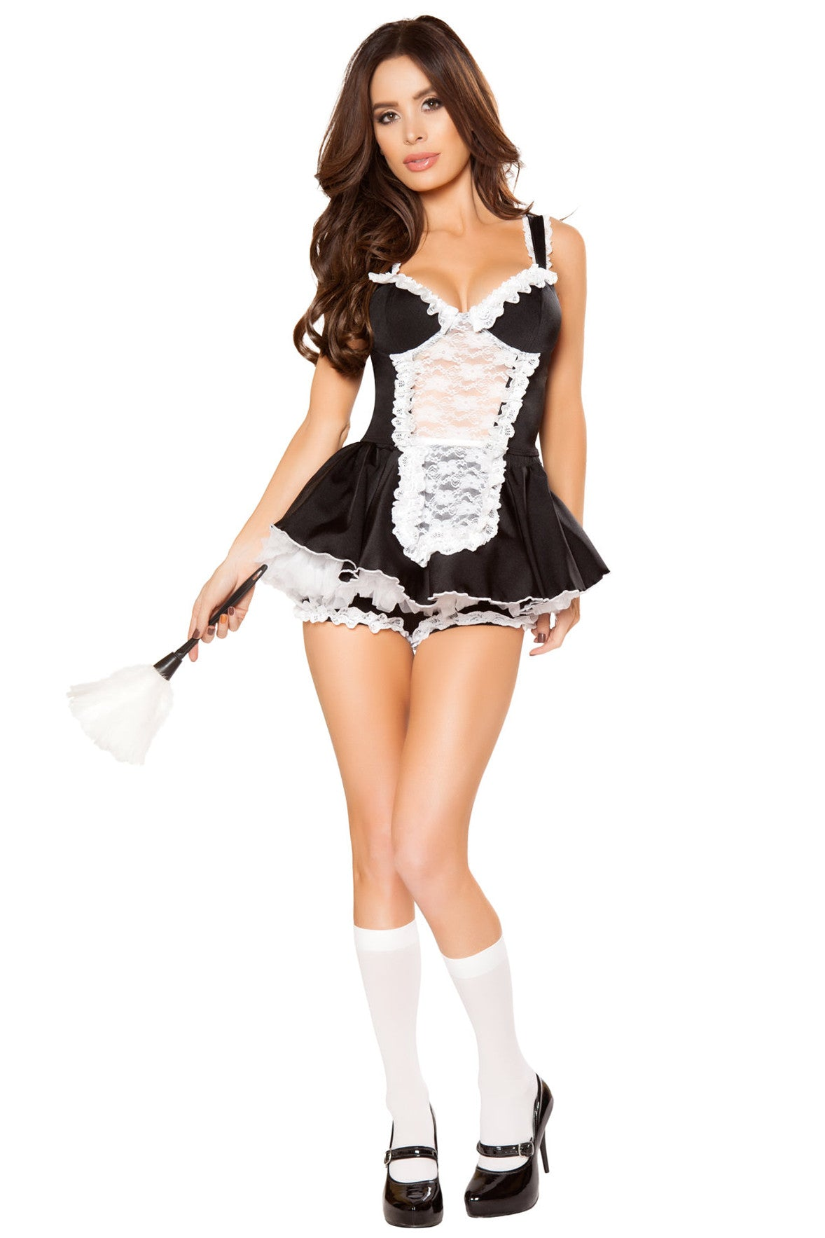 Flirty Ruffle Maid