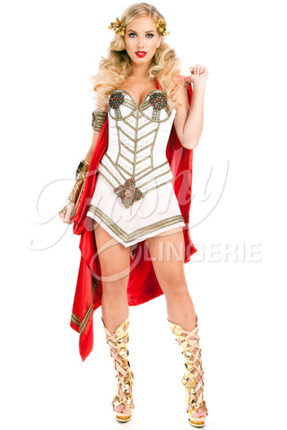 Gladiator Corset with Cape
