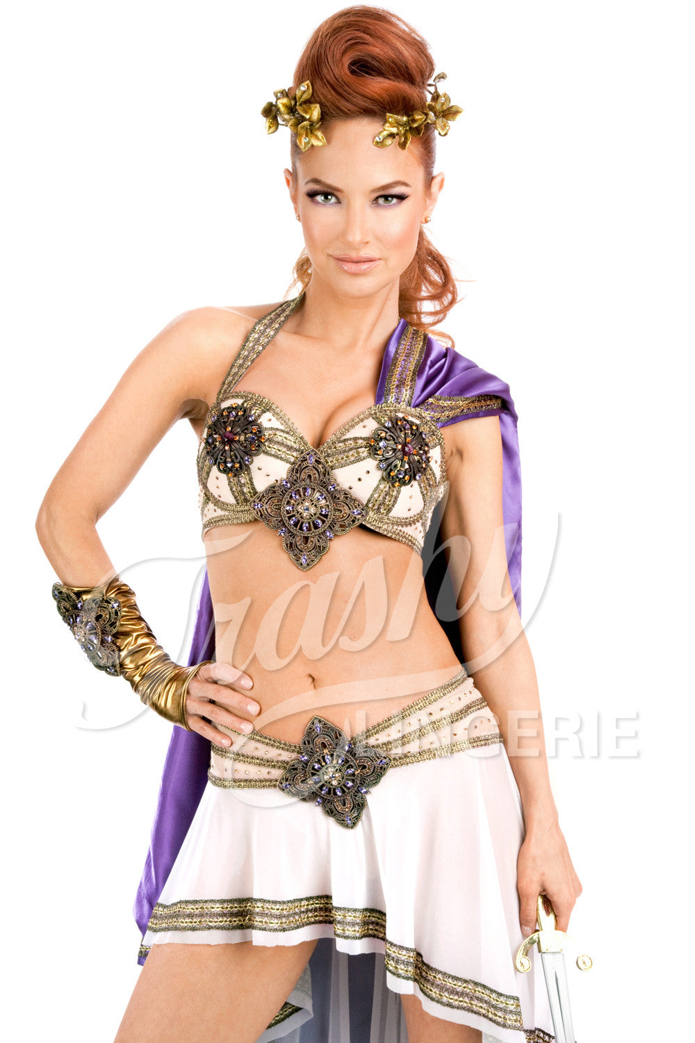 Gladiator Bra with Cape