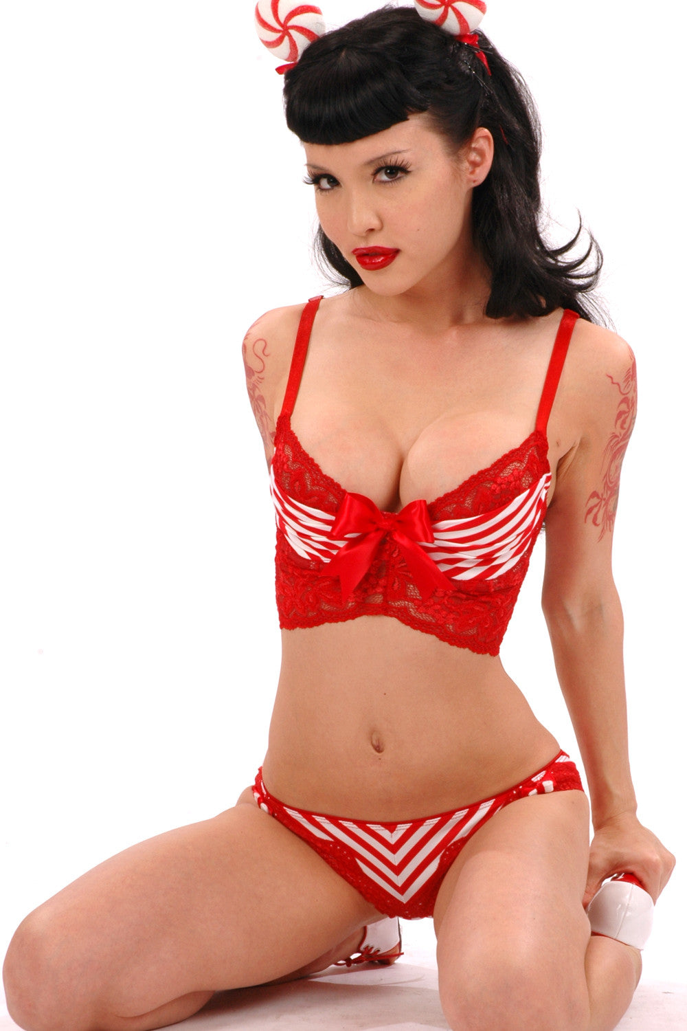 Peppermint Underwire Bra
