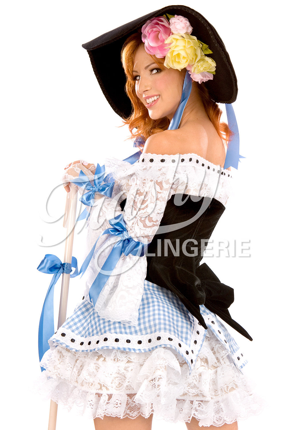 Velvet Bo Peep Over Dress