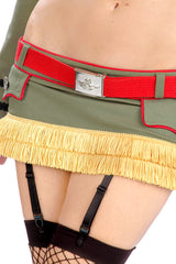 Major Trouble Garter Skirt