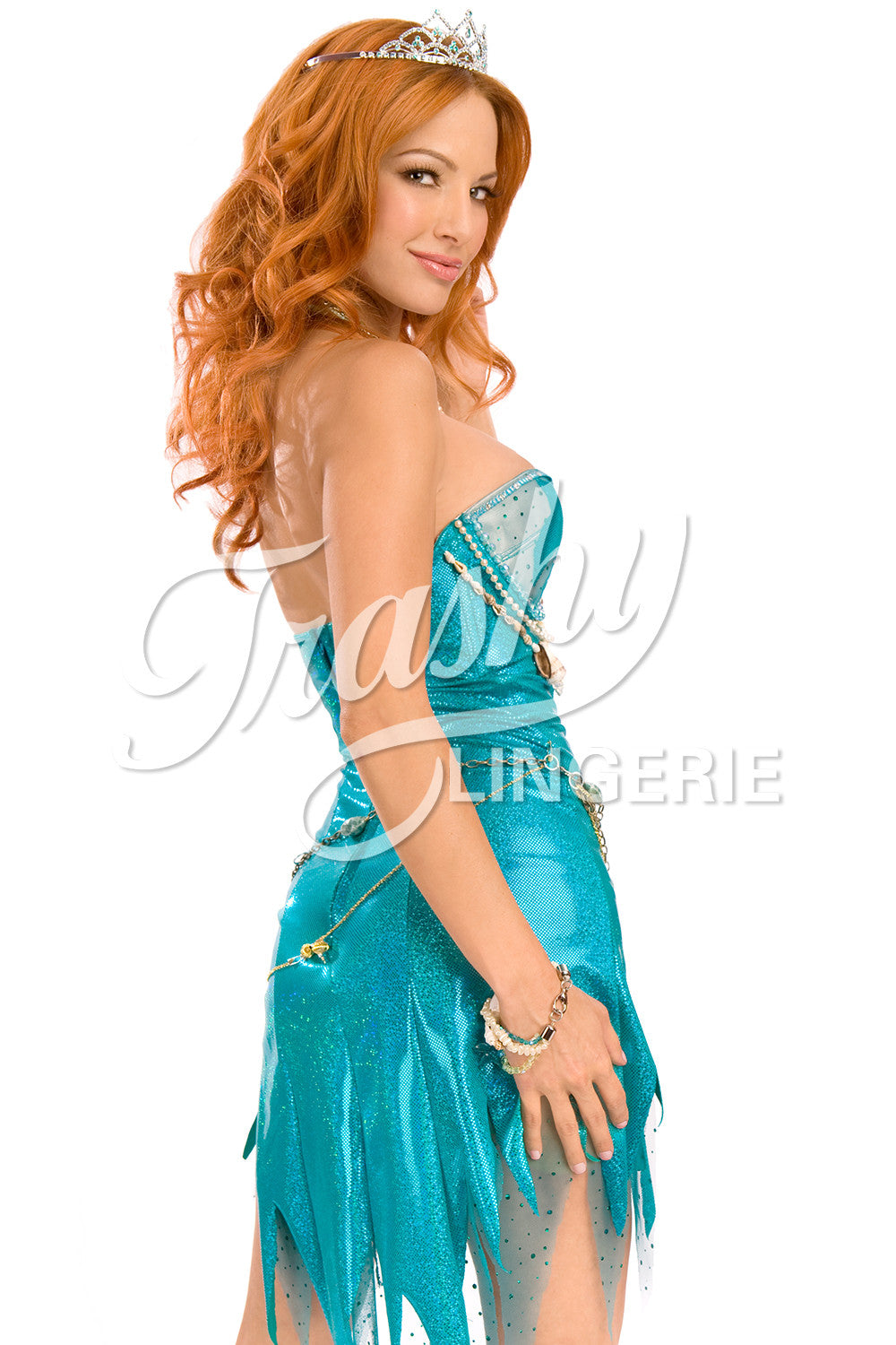 Strapless Mermaid Dress