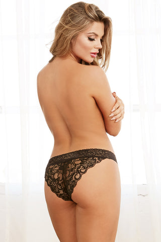 Criss-Cross Lace Panty