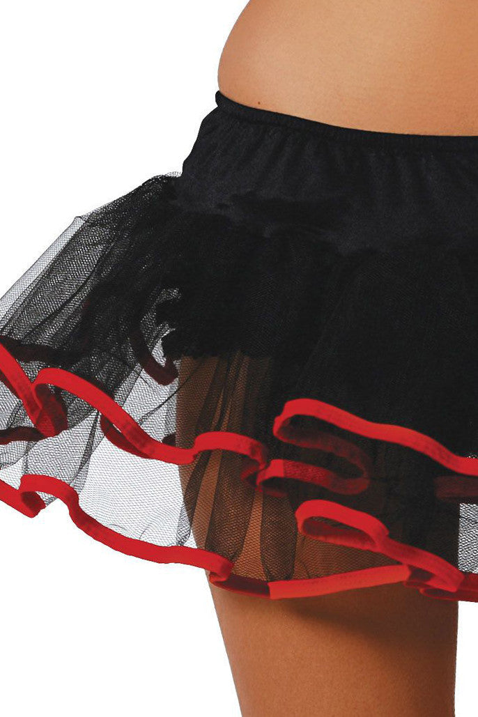 Double Layered Black Petticoat