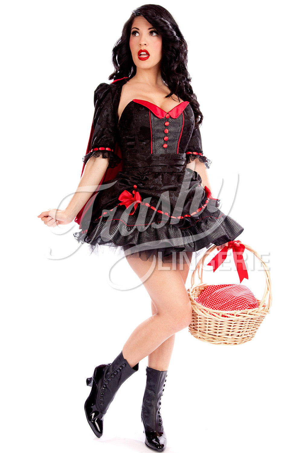Ruby Red Riding Hood Corset