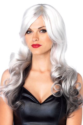 Long Wavy Multi Color Wig
