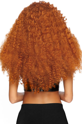 Long Curly Ginger Wig
