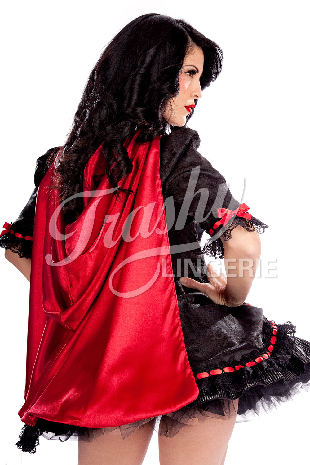 Ruby Red Riding Hood Bolero With Cape