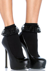 Ankle Socks with Ruffle