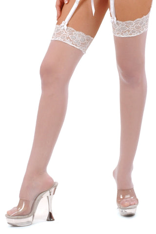 Sterling Lace Top Stockings