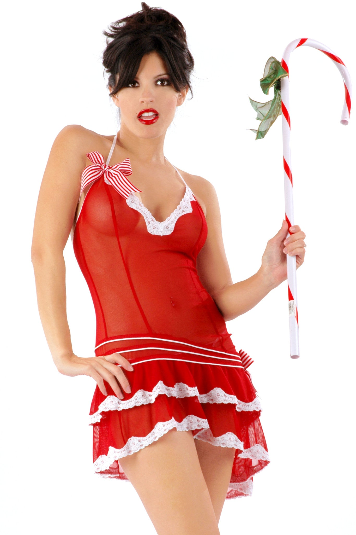 Sheer Peppermint Chemise