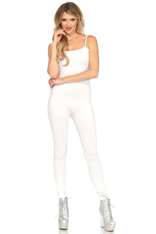 Basic White Catsuit