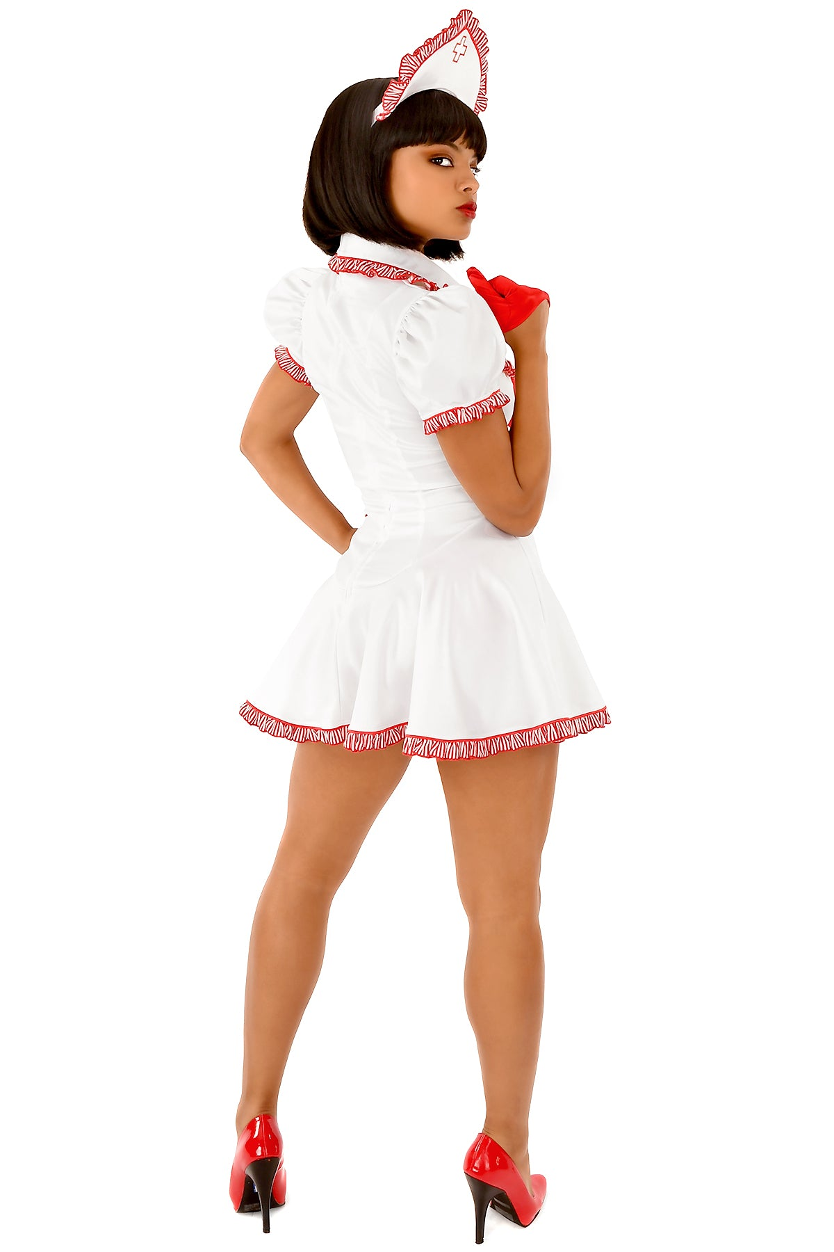 Ruffled Nurse Dress