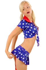 Star-Spangled Superbowl Skirt