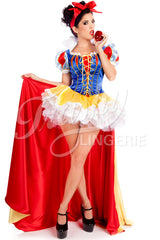 Snow White #6 Corset with Sleeves
