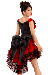 Carmen Corset with Bow Bustle