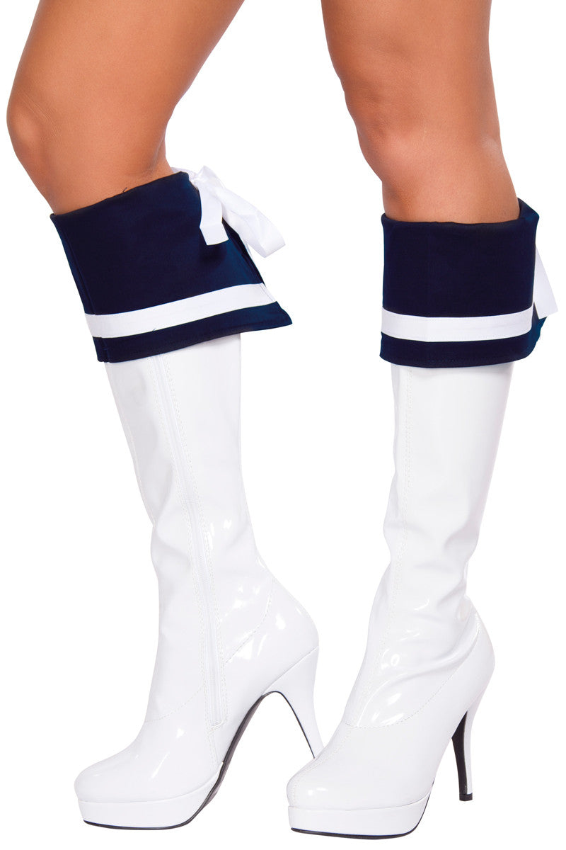 Naughty Navy Sailor Boot Covers