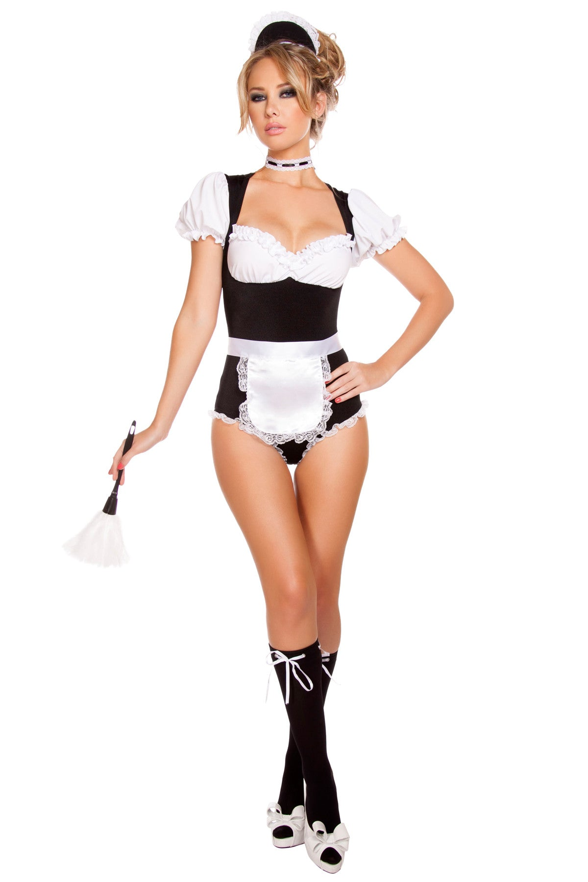 Foxy French Maid